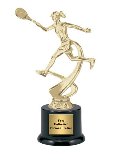 Motion Tennis Female Trophy