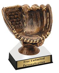 Game Ball Baseball Trophy