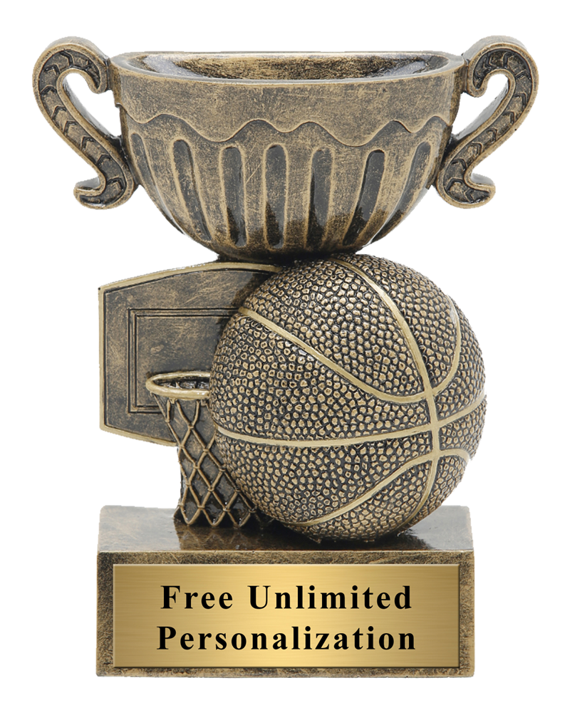 Little Cup Basketball Trophy