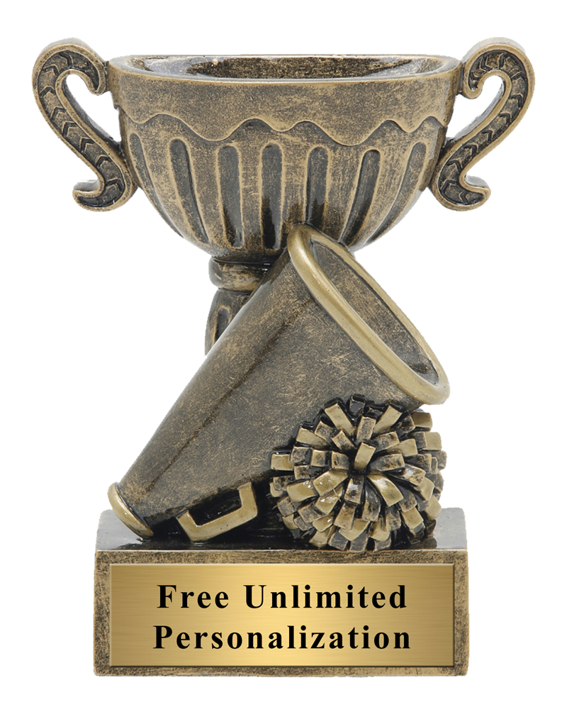 Little Cup Cheerleading Trophy