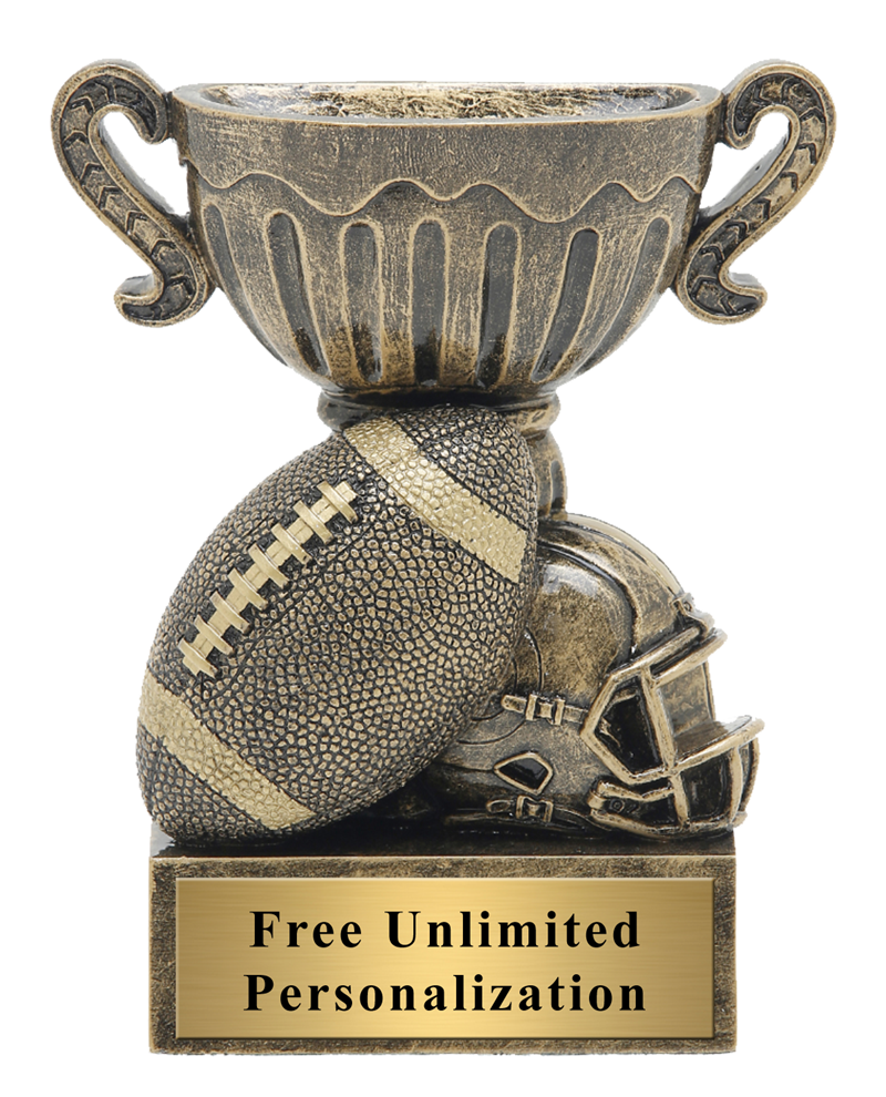 Little Cup Football Trophy