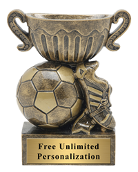 Little Cup Soccer Trophy