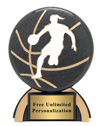 Shadow Basketball Trophy Female
