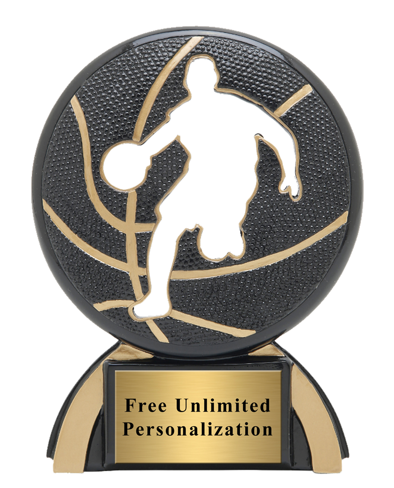 Shadow Basketball Trophy Male