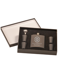 Flask Set With Presentation Box
