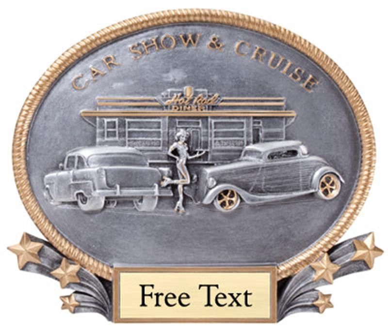 Oval Car Show & Cruise Trophy