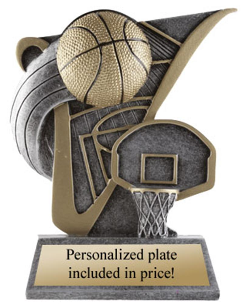 Victory Scene Basketball Trophy
