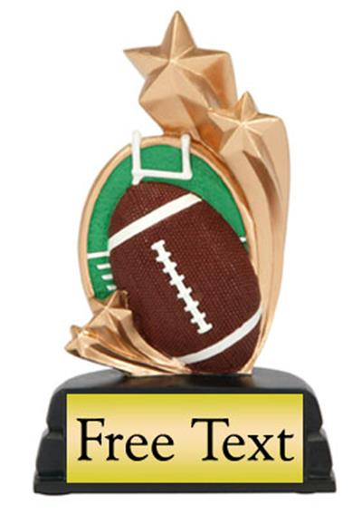 Star Scene Football Trophy