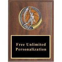 Motion Xtreme Basketball Plaque - Male