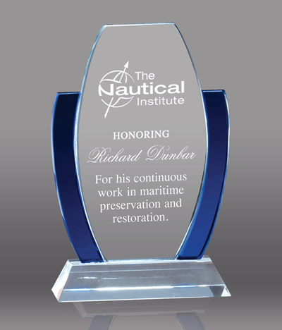 Blue Anchor Glass Award