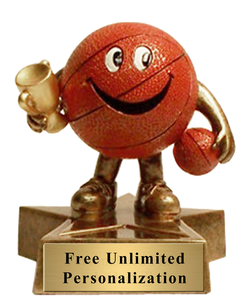 Little Buddy Basketball Trophy