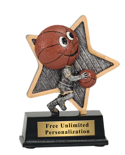 Little Pal Basketball Trophy