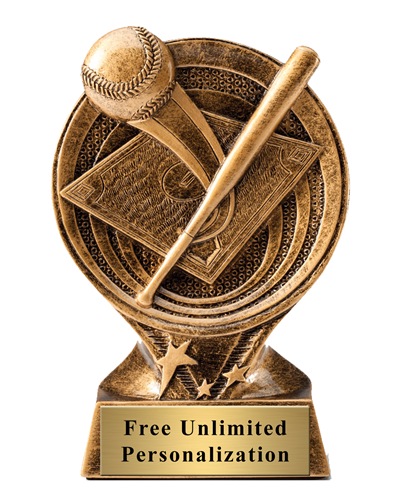 Saturn Baseball Home Run Trophy