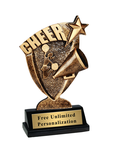 Broadcast Cheer Trophy