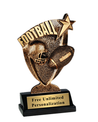 Broadcast Football Trophy