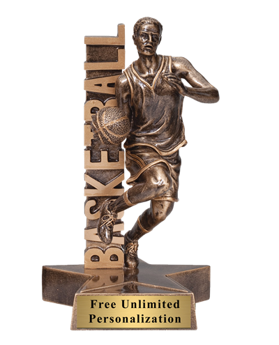 Billboard Basketball Trophy – Male