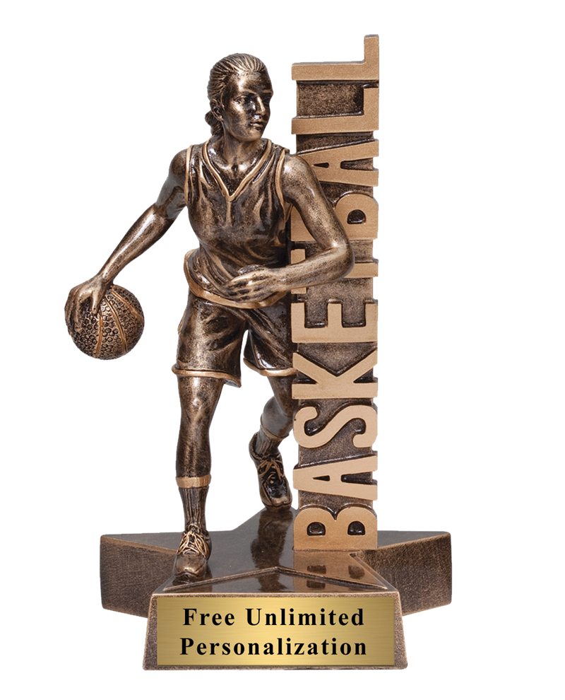 Billboard Basketball Trophy – Female