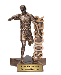 Billboard Soccer Trophy – Male