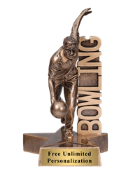 Billboard Bowling Trophy – Male