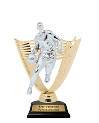 Victory Backdrop Basketball Trophy – Male
