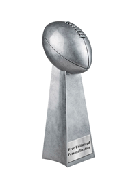 World Champion Football Resin