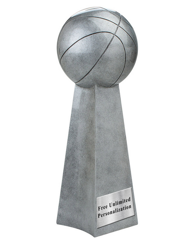 World Champion Basketball Resin