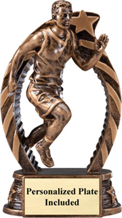 Running Star Track Trophy – Male