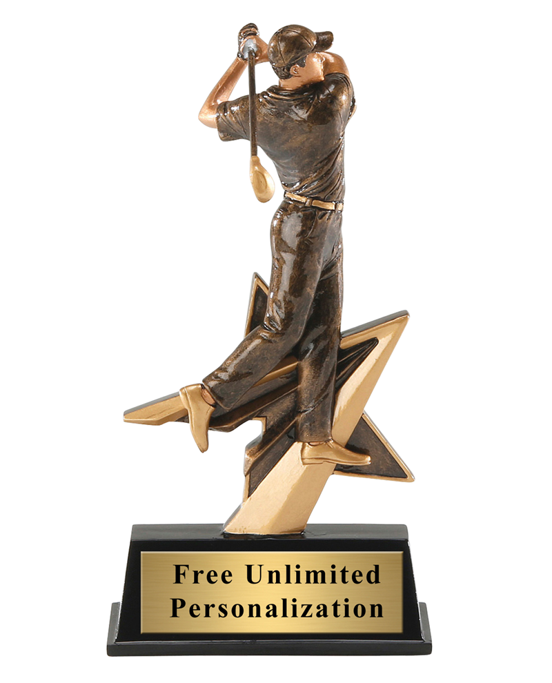 Star Power Golf Trophy – Male