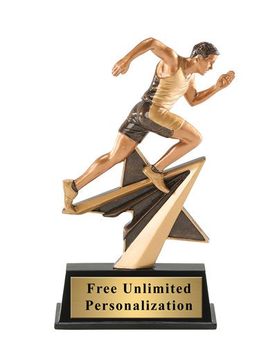 Star Power Runner Trophy – Male