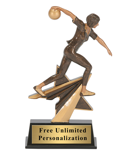 Star Power Bowling Trophy – Female