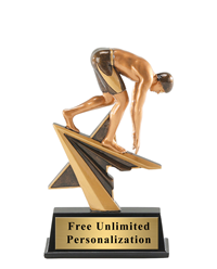 Star Power Swimming Trophy – Male