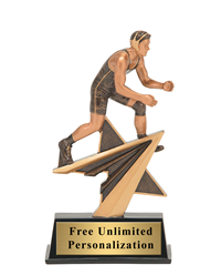 Star Power Wrestling Trophy