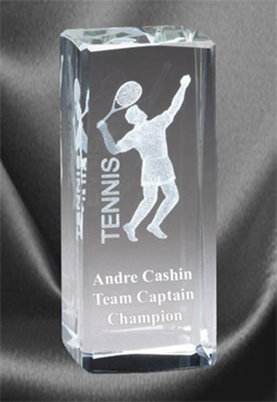 3D Tennis Sports Crystal – Male