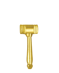 Sports Chenille Pin – Gavel