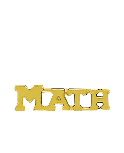 Sports Chenille Pin – Math