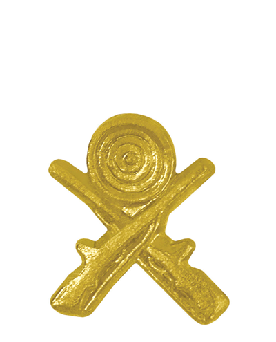 Sports Chenille Pin – Crossed Rifles