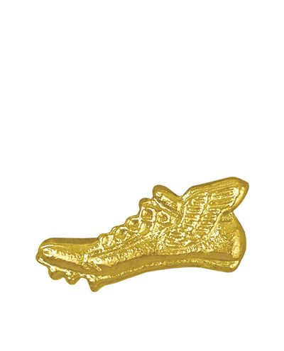 Sports Chenille Pin – Winged Track Shoe