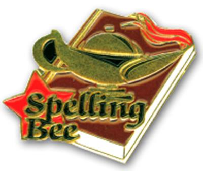 Academic Pin – Spelling Bee