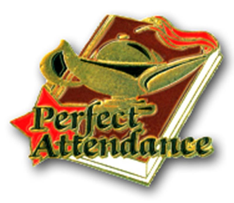 Academic Pin – Perfect Attendance
