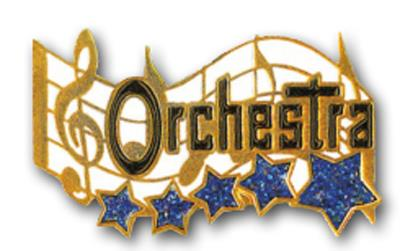 Music Pin – Orchestra