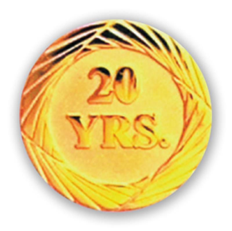 Service Pin – 20 Years
