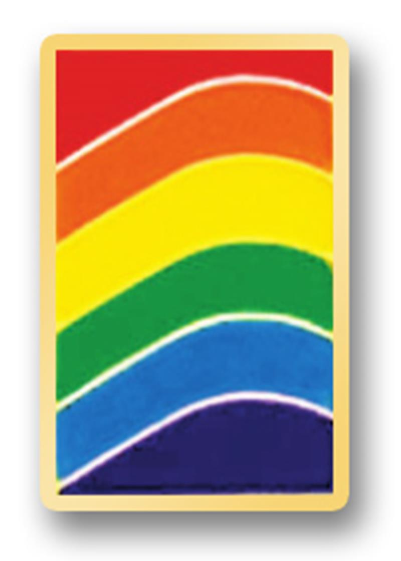 Awareness Pin – Rainbow