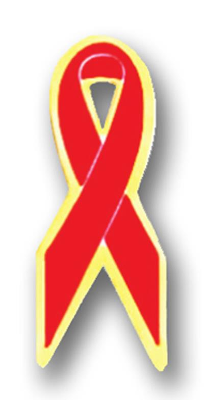 Awareness Pin – Red Ribbon