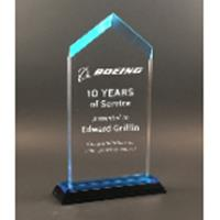Blue Spire Impress Acrylic Award