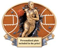 Xplosion Oval Basketball Trophy – Female