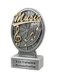 Pinwheel Music Trophy