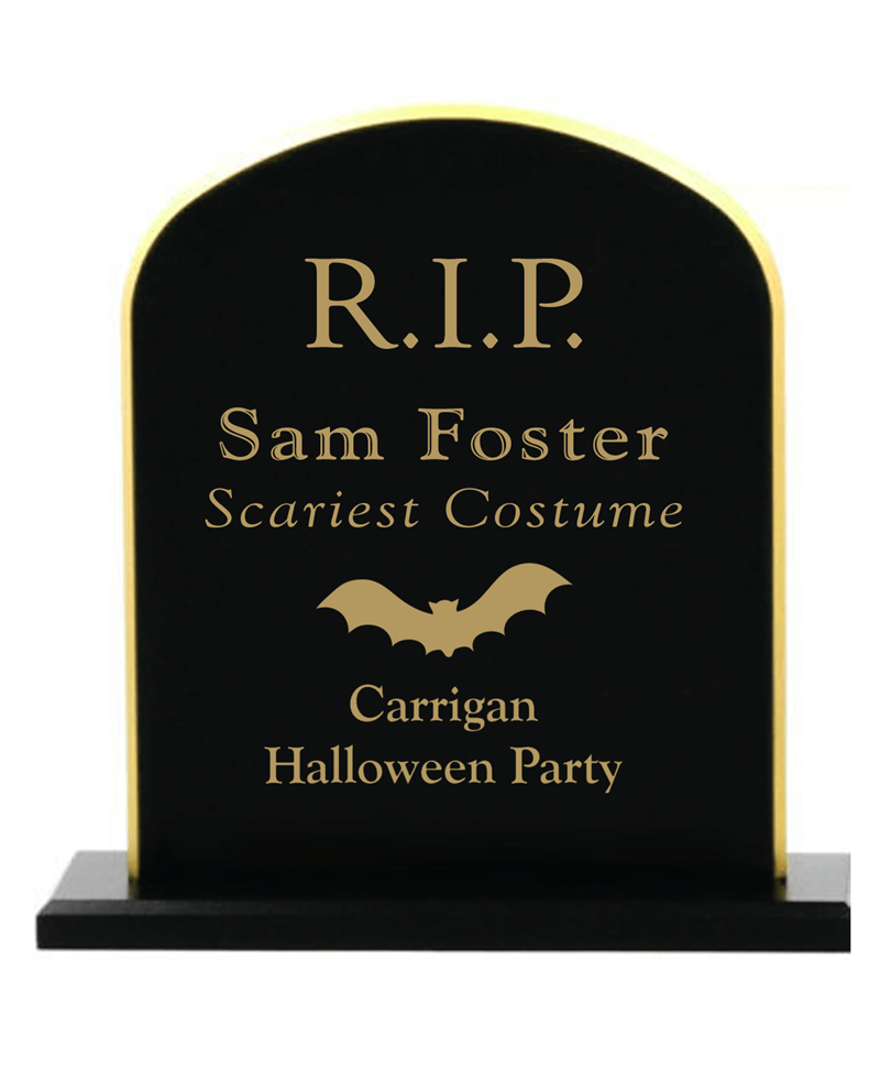 Halloween Tombstone Award