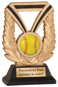 Super Durable Softball Trophy
