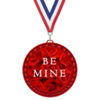 Valentine's Day Elegant Color Medal