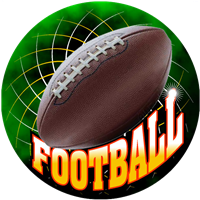 Football w/ White Text